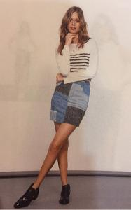 """Soul Patch""denim Mini Skirt(XS)"