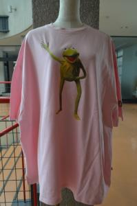BIG TEE/THE MUPPETS(KERMIT)(pink)