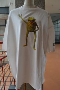 BIG TEE/THE MUPPETS(KERMIT)(white)
