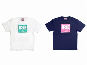 JAMAICAN ICON LOGO TEE -IRIE by irielife-(Navy)