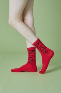 kids socks(red)